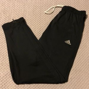 Adidas Reflective Logos Slim Athletic Track Pants
